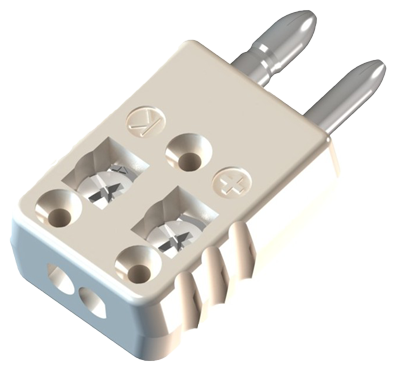 Ceramic Jab-in Full Size Thermocouple Connector 2