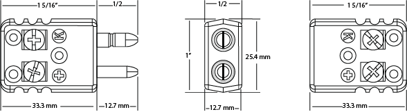 Full Size Jab in 2 Pole Connectors Diagram | Marlin Manufacturing