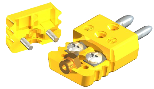 Full-Size, Hex Body, 2-Pole Connectors 1