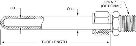 Single Phase Silicon Carbide Tubes SA SiC thumb | Marlin Manufacturing